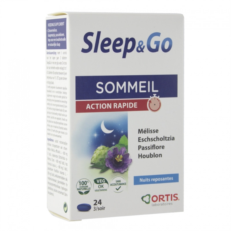 Sleep & go - 30 comprimés - ORTIS