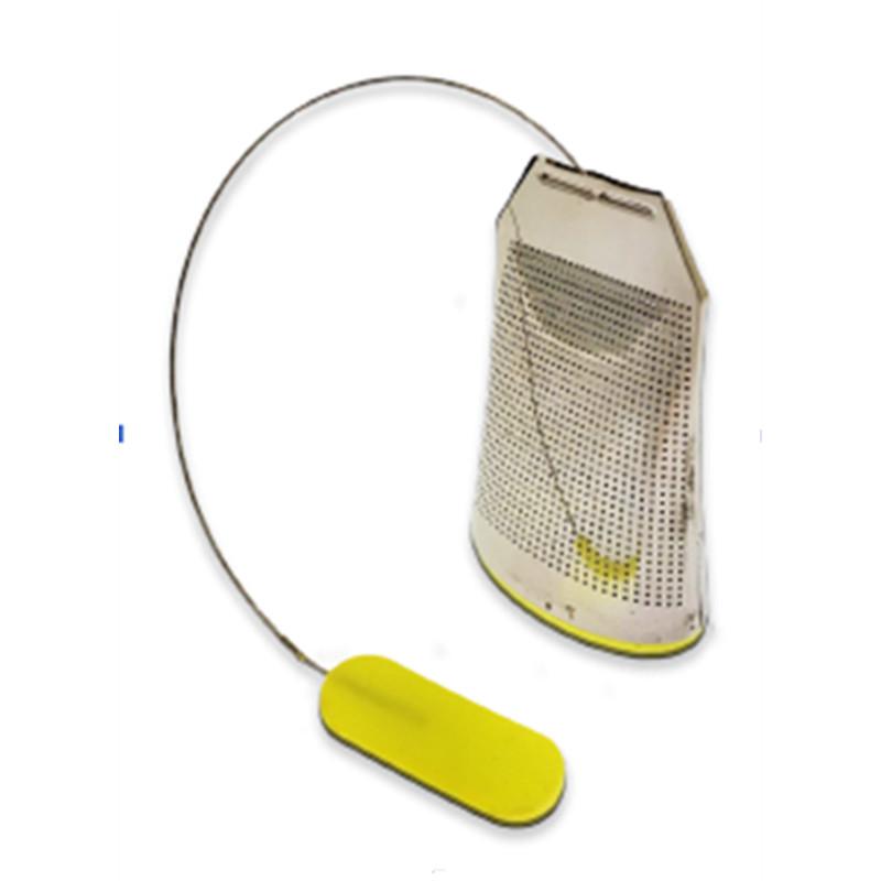 Infusette inox - silicone - H: 7,5 cm - l: 5 cm