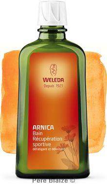 Bain récupération sportive à l'arnica - 200 ml - WELEDA