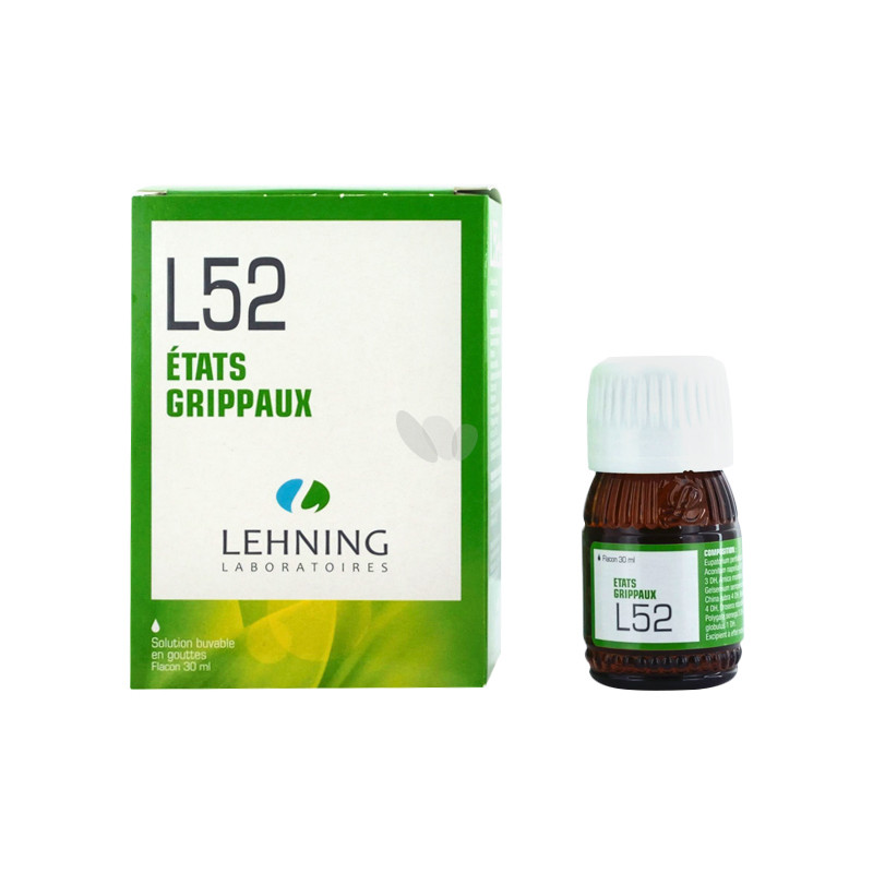 L52 solution buvable en gouttes - 30 ml - LEHNING