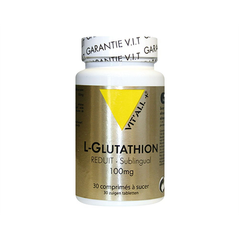 L-GLUTATHION 100mg - 30 comp - VIT'ALL +