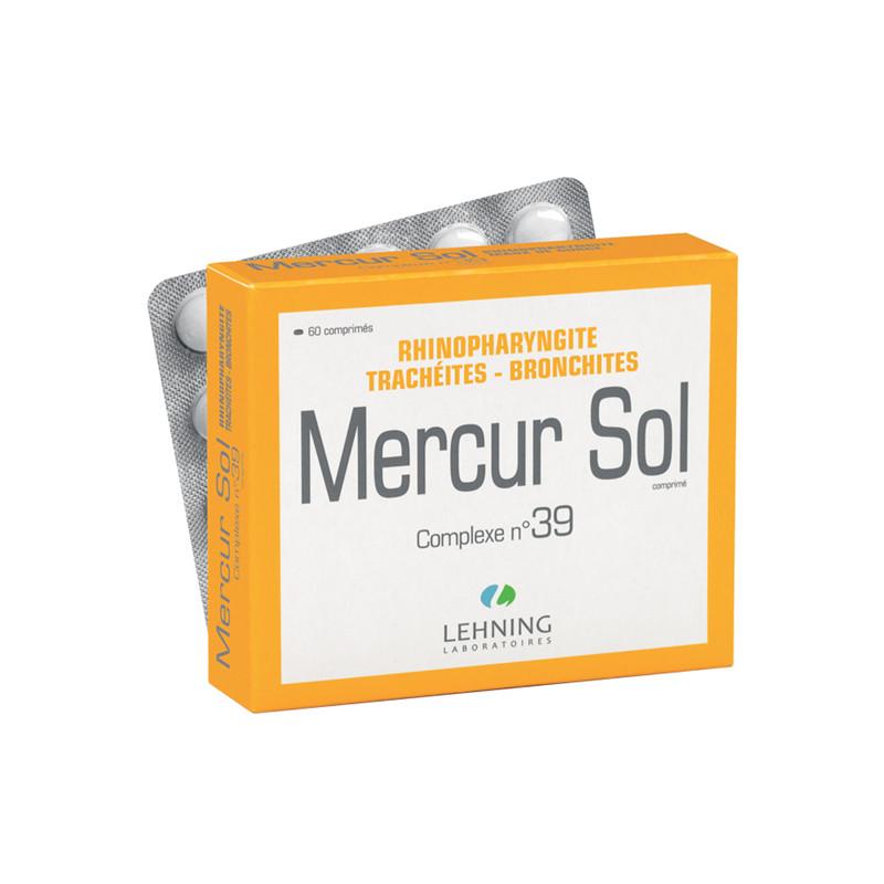 Mercurius solubilis n°39 - 60 comprimés - LEHNING