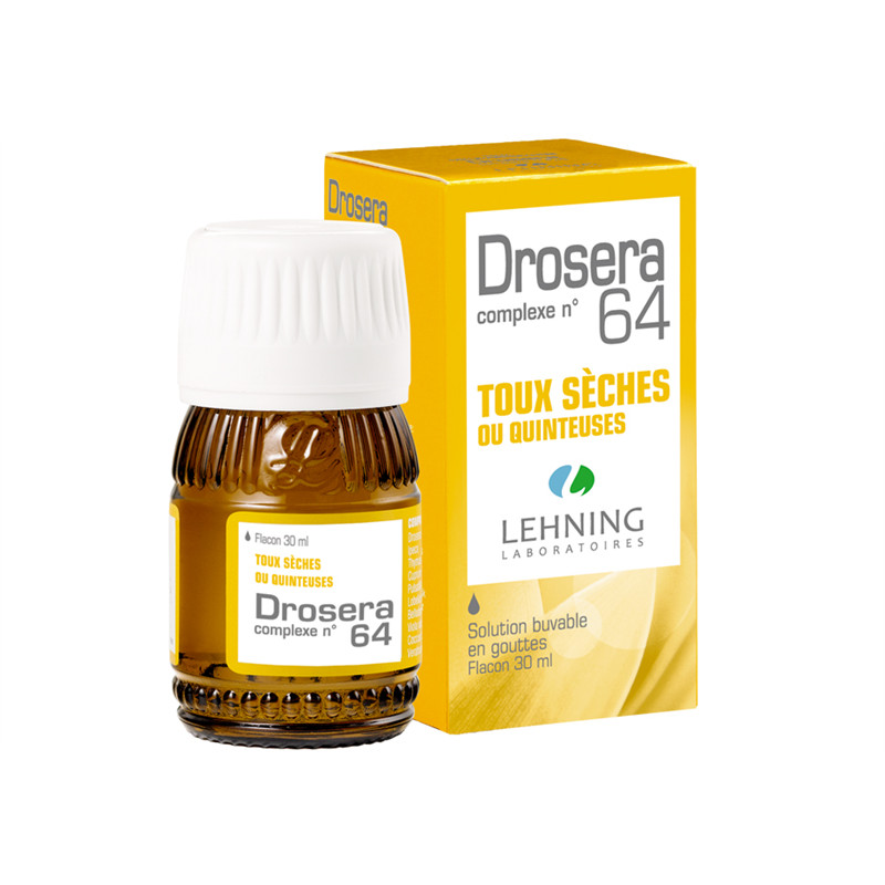 Drosera n°64 solution buvable en gouttes - 30 ml - LEHNING