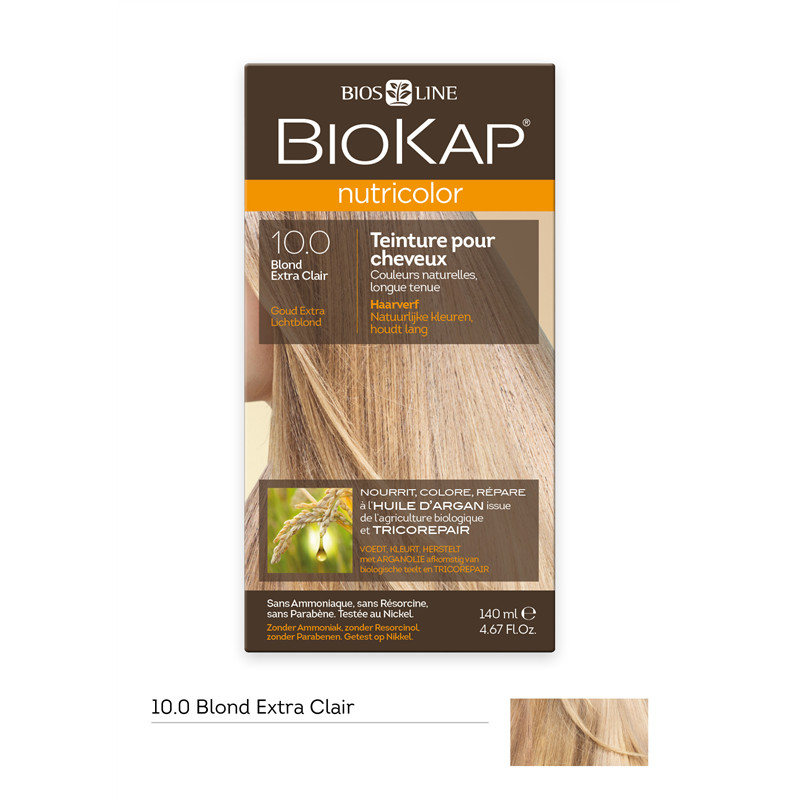 Nutricolor - Blond extra clair 10.0 - 140 ml - BIOKAP