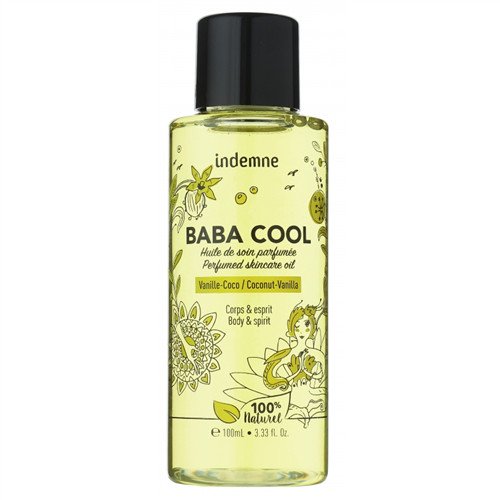 Baba cool huile de soin parfumée - vanille - coco - 100 ml - INDEMNE