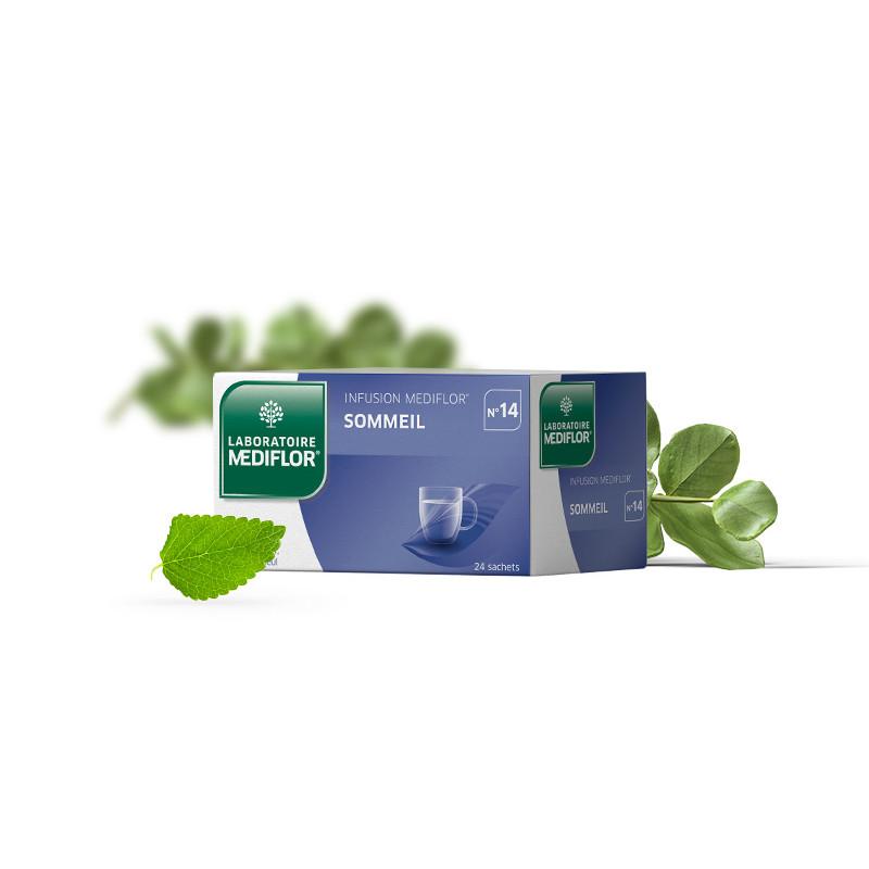 Tisane Mediflor N°14 - Sommeil - 24 sachets - LABORATOIRE MEDIFLOR