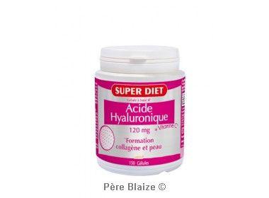 Acide hyaluronique + Vitamine C - 150 gél - LABORATOIRES SUPERDIET