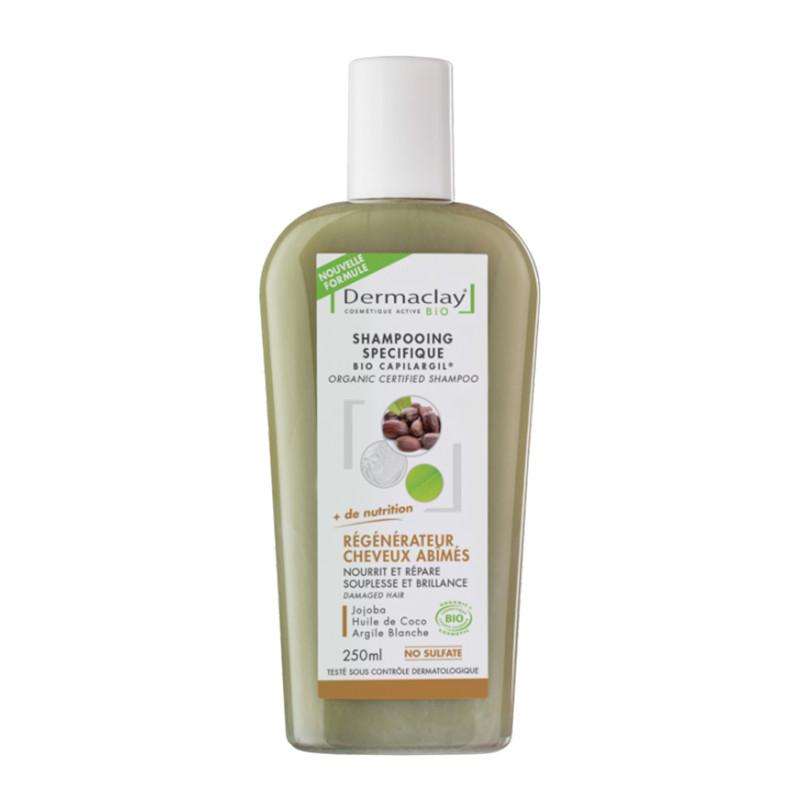 Shampooing BIO régénérateur cheveux abimés - 250 ml - DERMACLAY