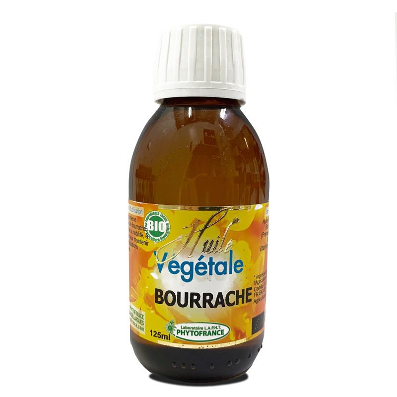 Huile Végétale de Bourrache BIO - 125 ml - PHYTOFRANCE