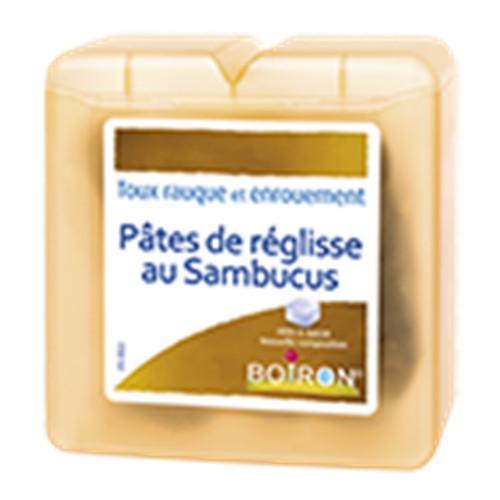 Pates de réglisse sambucus - pâtes - 70 g - BOIRON
