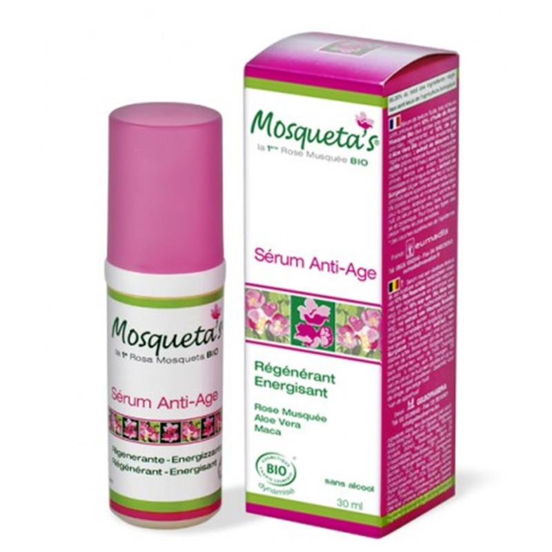 Sérum énergisant ati-âge - 30 ml - KOSMEO MOSQUETA'S