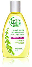 Shampooing eclaircissant à La camomille - 200 ml - MARTINE MAHE