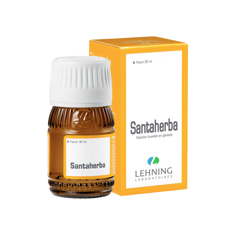 Santaherba solution buvable en gouttes - 30 ml - LEHNING