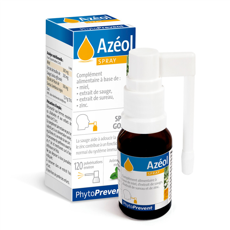Azeol spray flacon - 15 ml - LABORATOIRE PILEJE