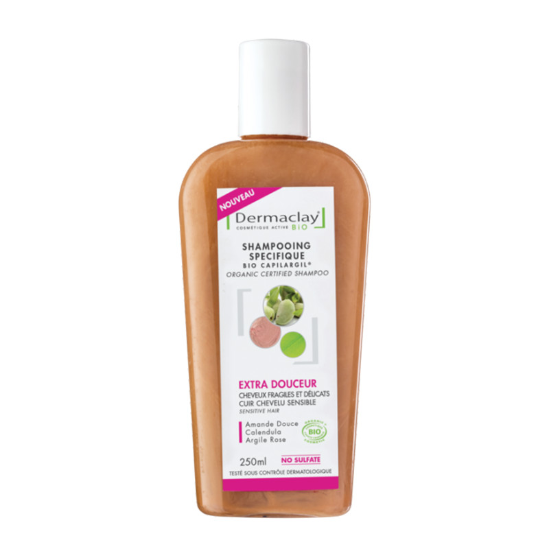 Shampooing BIO extra douceur - 250 ml - DERMACLAY