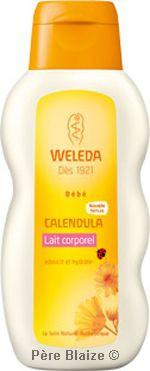 Lait corporel bébé calendula - 200 ml - WELEDA