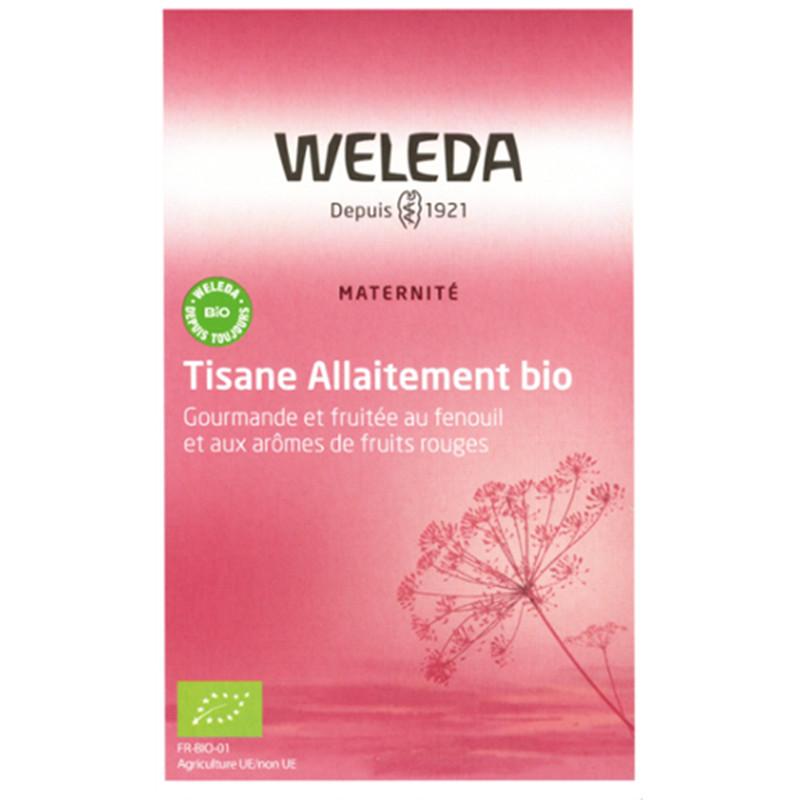 Tisane allaitement fruits rouges - 20 sachets - WELEDA
