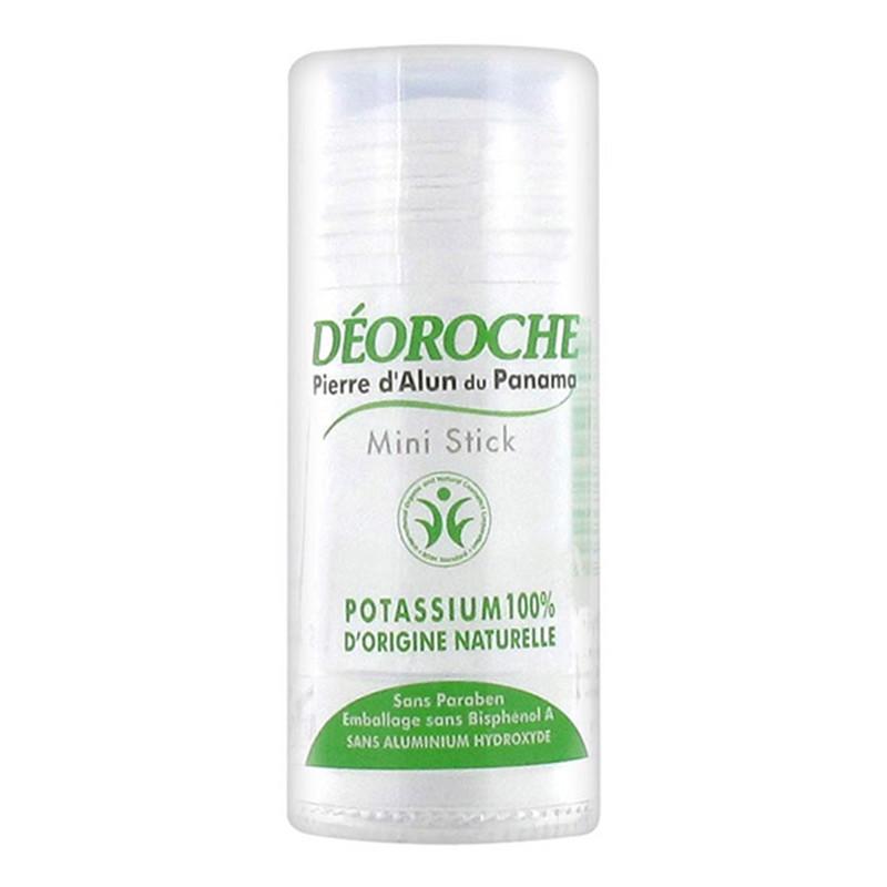 Déodorant stick 100 % Pierre d'Alun du Panama - 30 g - DEOROCHE