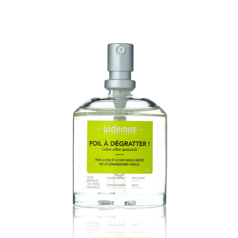 Poil a dégratter ! Lotion ultra apaisante - 50 ml - INDEMNE