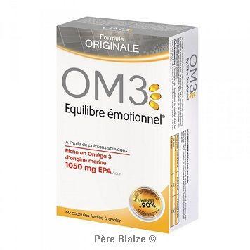 OM3 equilibre emotionnel - 60 capsules - LABORATOIRES SUPERDIET