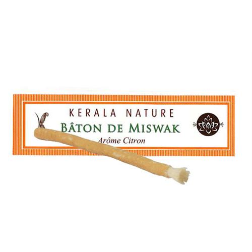 Bâton de Miswak Citron - KERALA NATURE