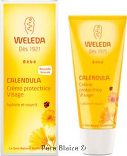 Crème protectrice visage bébé calendula - 50 ml - WELEDA