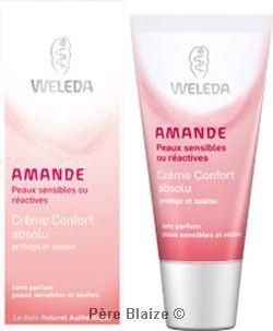 crème confort Absolu amande - 30 ml - WELEDA