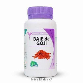 Goji (baie, lycium barbarum) - 90 gél - MGD
