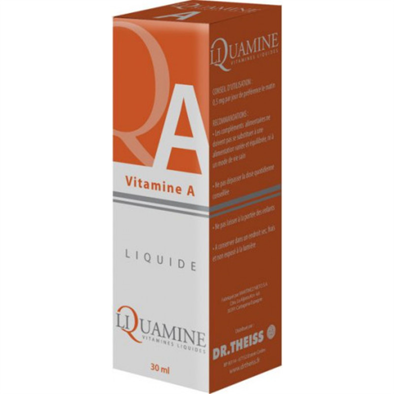 Liquamine A (vitamine Liquide) - 30 ml - DR THEISS