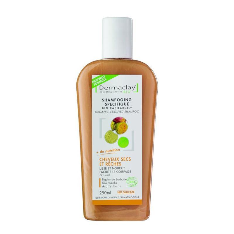 Shampooing BIO cheveux secs et rèches - 250 ml - DERMACLAY