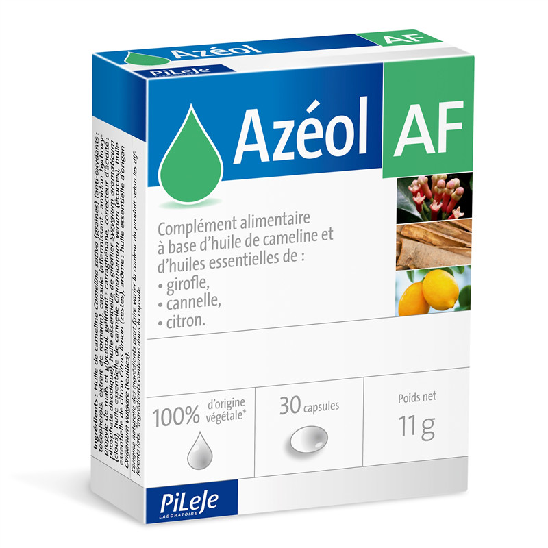 Azéol AF - 30 capsules - LABORATOIRE PILEJE