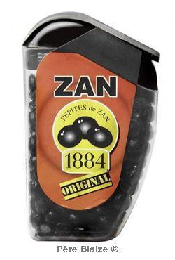 Bonbons Zan 1884 - Pépites de zan - etui - 18 g - RICQLES