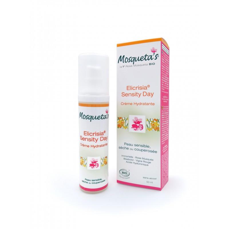 Crème elicrisia sensity day - 50 ml - KOSMEO MOSQUETA'S