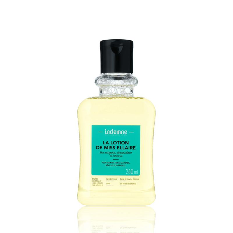 La Lotion de miss ellaire eau nettoyante, démaquillante et calmante - 260 ml - INDEMNE