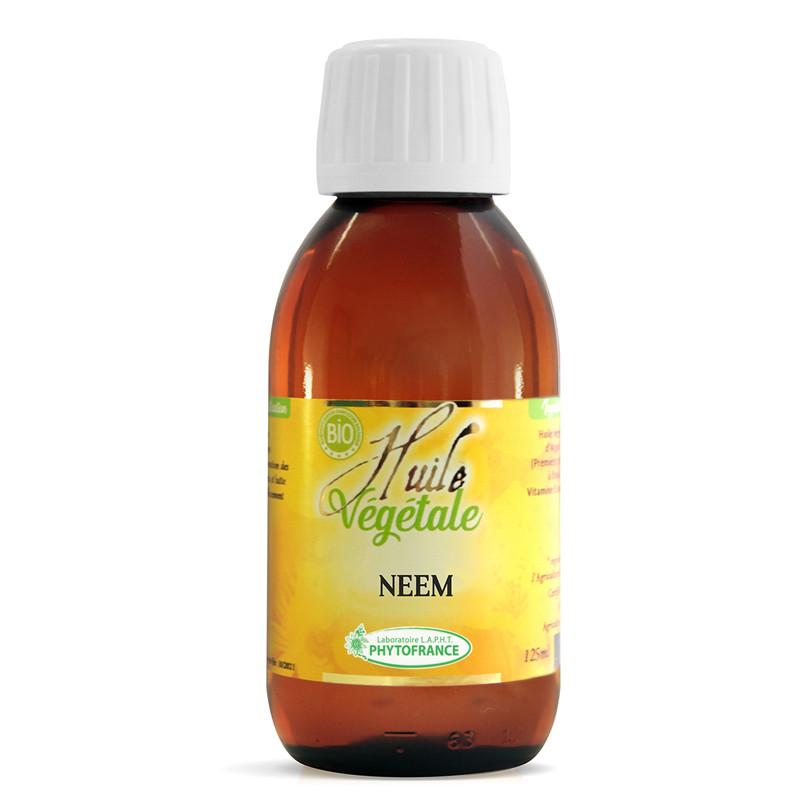 Huile végétale Neem BIO - 125 ml - PHYTOFRANCE