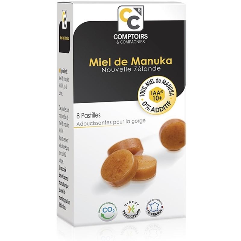 Pastilles 100% miel de manuka IAA10+ - 20 g - COMPTOIRS&COMPAGNIES