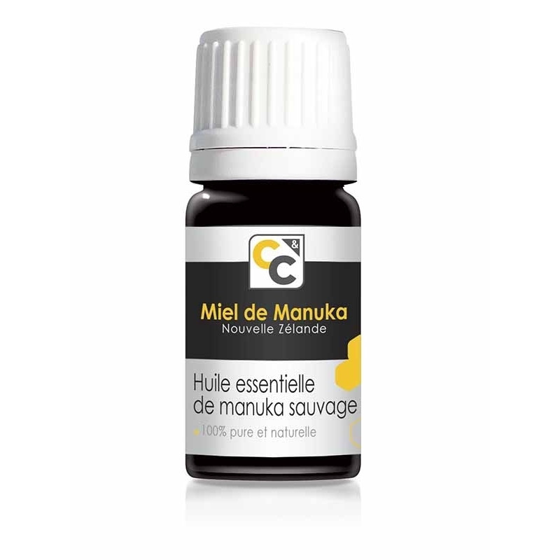 Huile essentielle de manuka sauvage - 5 ml - COMPTOIRS&COMPAGNIES
