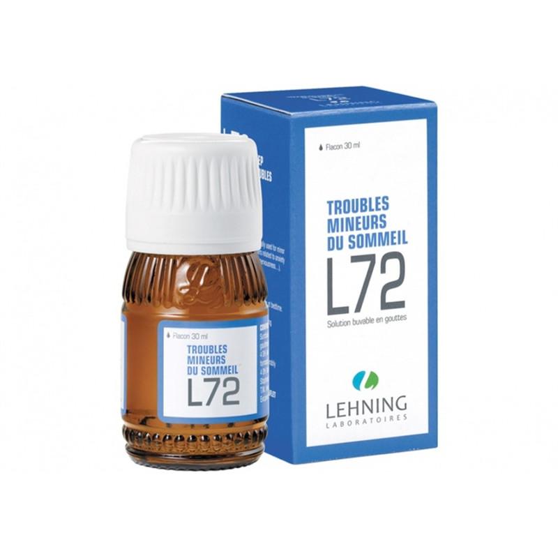 L72 solution buvable en gouttes - 30 ml - LEHNING
