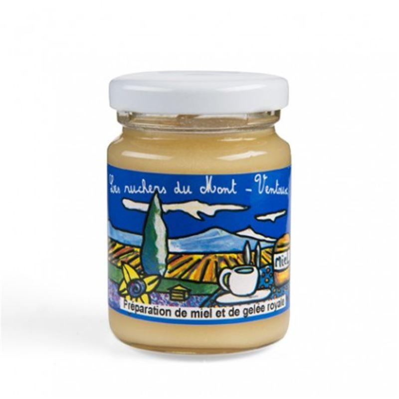 Préparation miel de Lavande 245 g + gélée royale française 5 g - 245 g + 5 g - AUGIER MIEL
