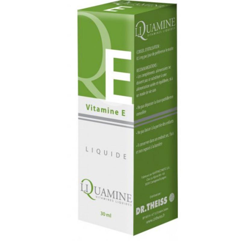 Liquamine E (vitamine Liquide) - 30 ml - DR THEISS