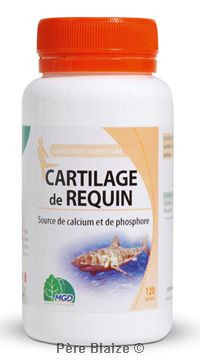 Requin cartilage - 120 gél - MGD