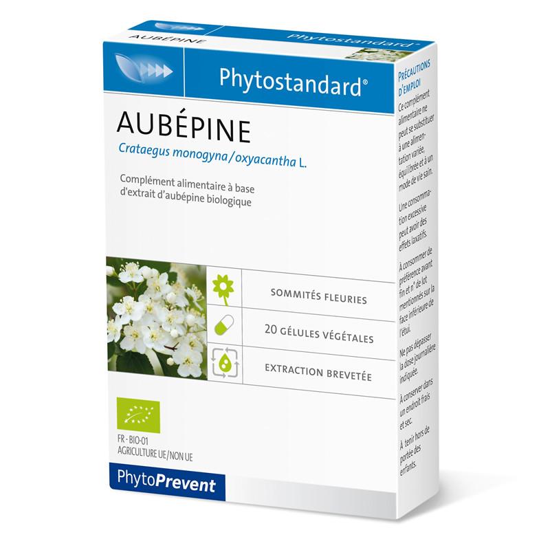 Aubepine - 20 gél - PHYTOSTANDARD - LABORATOIRE PILEJE