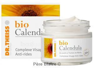 Complexe visage anti-rides - 50 ml - BIO CALENDULA - DR THEISS