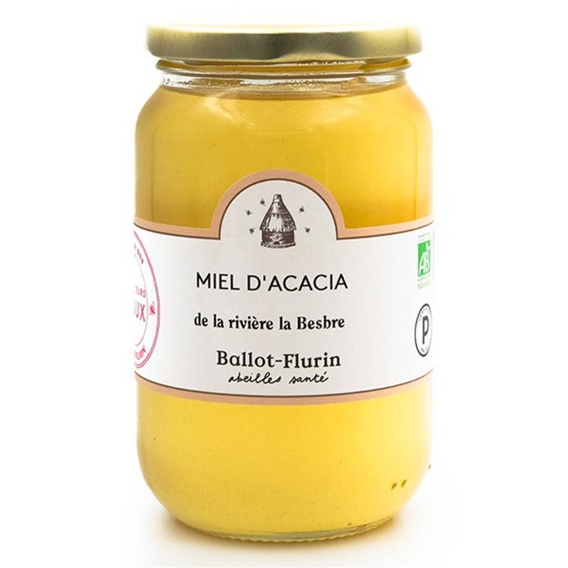 Miel d'acacia Bio - pot de 480 g - BALLOT-FLURIN
