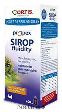 Propex sirop fluidifiant - 200 ml - ORTIS