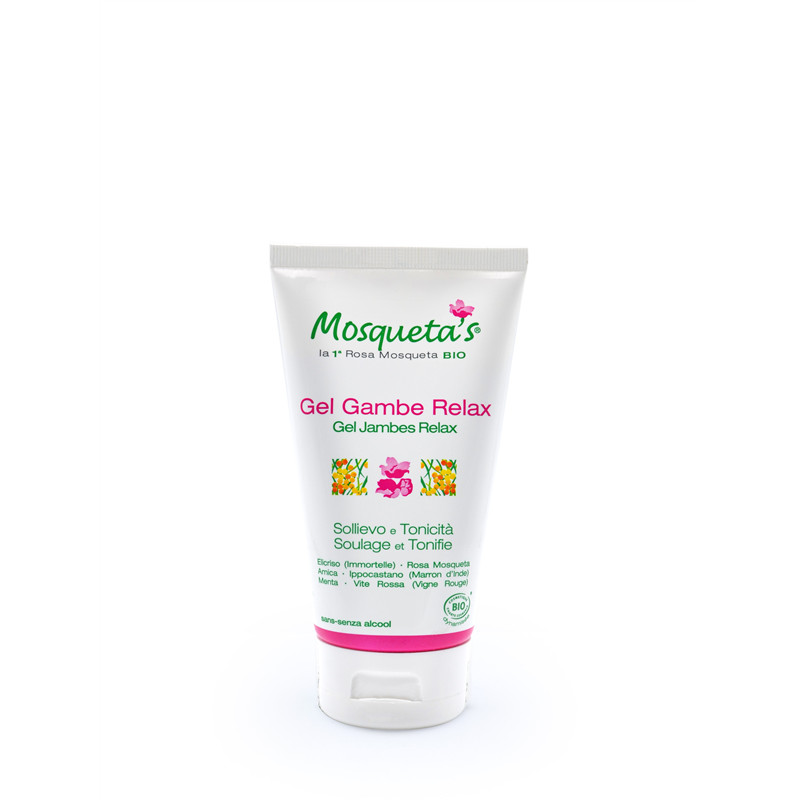 Gel jambes relax - 150 ml - KOSMEO MOSQUETA'S