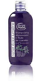 Shampooing reflets huile camélia - déjaunisseur - 200 ml - MARTINE MAHE