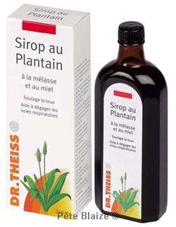 Sirop au plantain - 250 ml - JARDIN D'HERBES DE MARIA - DR THEISS