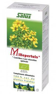 Millepertuis - suc de plantes fraîches - 200 ml - SALUS