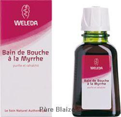 Bain de bouche à La myrrhe - 50 ml - WELEDA